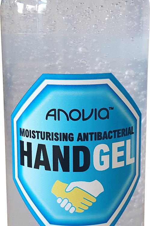 Anovia Moisturising Antibacterial Hand Gel 100ml 60% Alcohol UK Manufactered