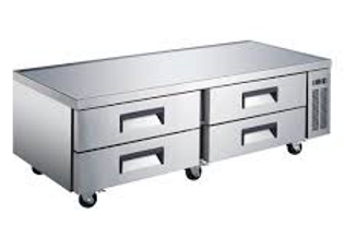 "Coldline  72"" Four Drawer Refrigerated Chef Base"