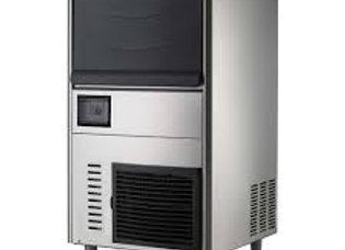 """18"""" 80 lb. Ice Machine, Air Cooled, Half Cube, with Bin"""