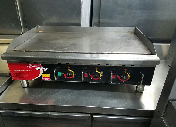 """36"""" electric Flat grill"""
