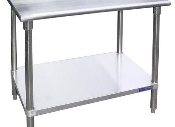 "36"" X 24"" Stainless Steel Work Table"