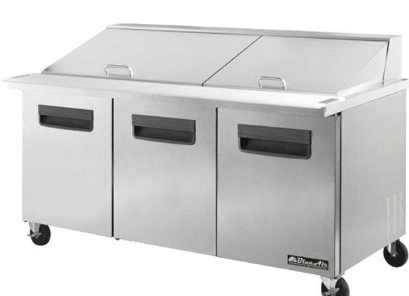 "Sandwich Table Refrigerator 72"""