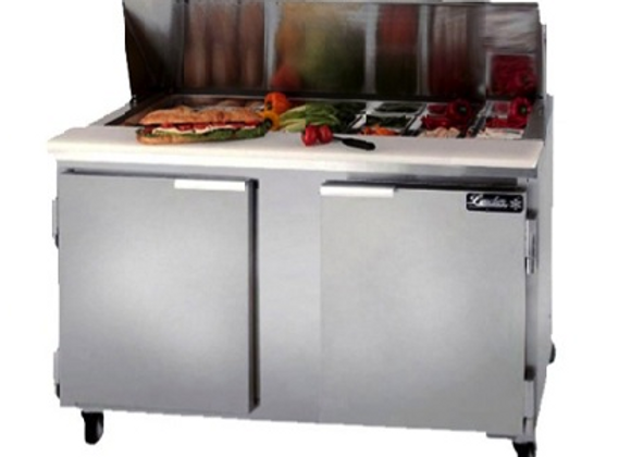"60"" Refrigerated Sandwich Prep Table"