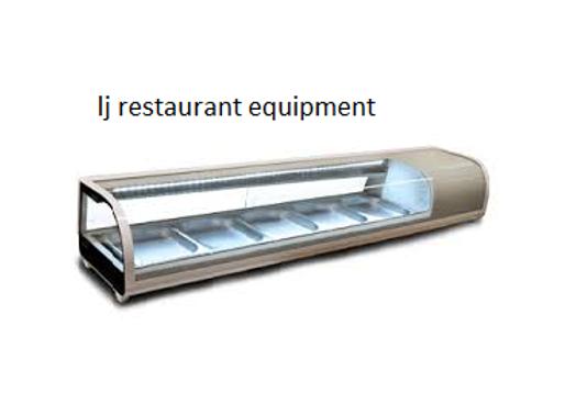 """REFRIGERATED SHOWCASES sushi case 71"""""""