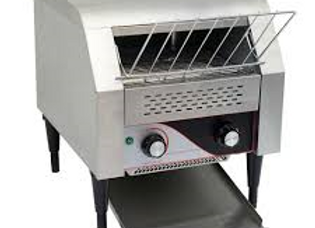 """15"""" Electric Countertop Conveyor Toaster Oven, 3"""" Opening"""