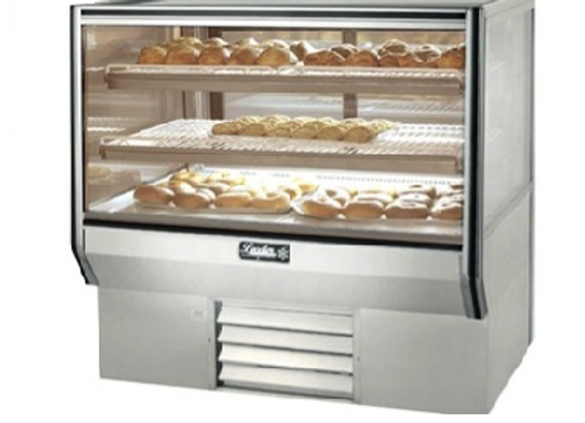 "77"" Refrigerated Bakery Display Case - Counter Height"