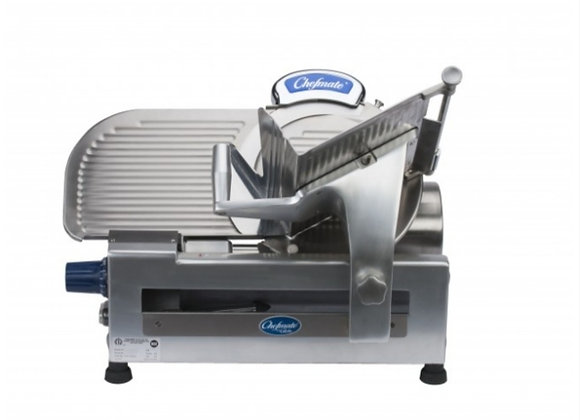 "Globe GC512 12"" Gear Driven Anodized Aluminum Slicer"