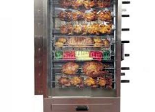 35 Chicken Commercial Rotisserie Oven Machine, Gas