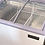 "Thumbnail: 49"" Curved Glass Top Display Ice Cream Freezer"