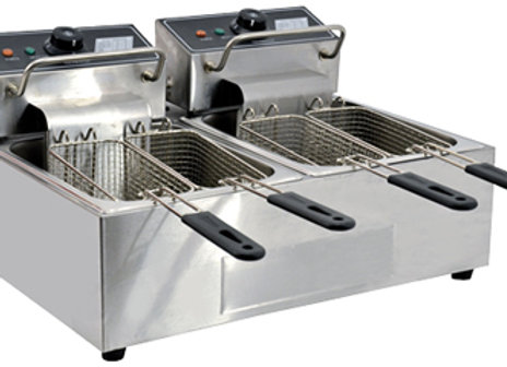 double Electric Fryers