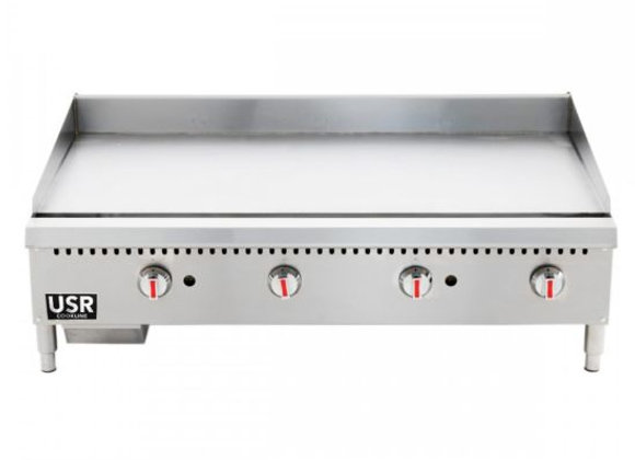 """48"""" Gas Countertop Griddle with Manual Controls"""