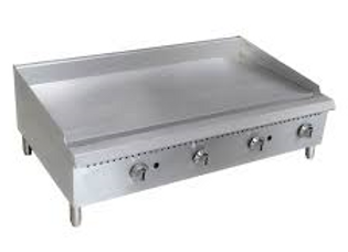 "60"" Gas Countertop Griddle with Thermostatic Controls"