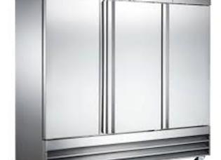 Triple Solid Door Reach-In Refrigerator