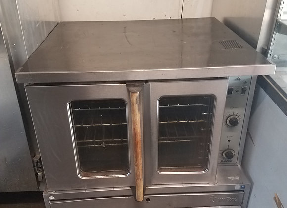 single convection oven gas