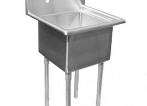 "18X24 - 30"" One Compartment Sink - NSF Certified"