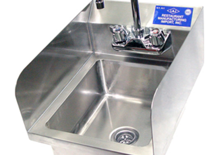 WHS-02 - Wall Hung Hand Sink W/ Faucet -