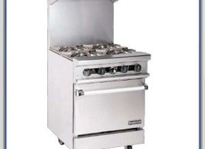 "4 Burner stove 24""HD Gas Range Therma-Tek"
