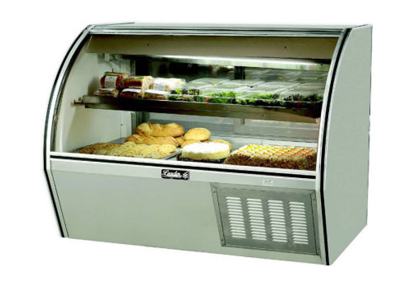 Curved Glass Counter Deli Case 60""