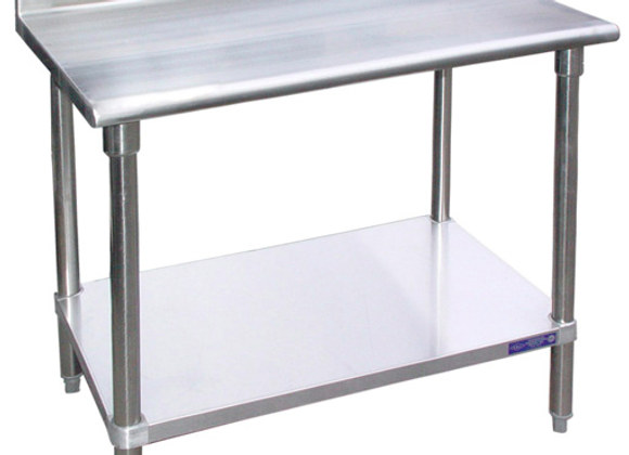 """48"""" X 24"""" STAINLESS STEEL WORK TABLE W"""