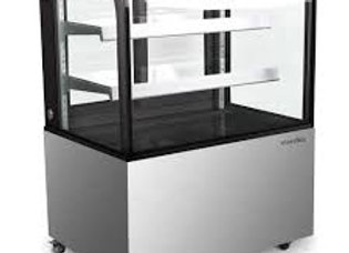 "Marchia 36"" Dry Non-Refrigerated Curved Glass Bakery Display Case"