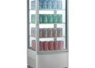 Countertop Refrigerated Glass Display Case