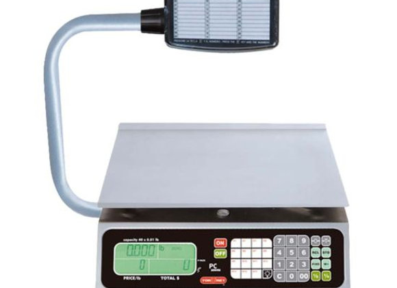 Tor Rey PC-40L-T Digital Price Computing Scale with Tower Display - 40 LB