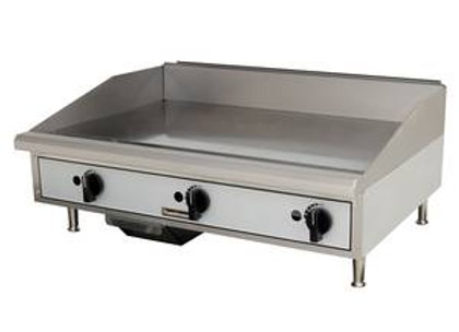 "Countertop 36"" Manual Control Gas Griddle"