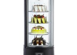 Refrigerated Countertop Rotating Cake Display Case