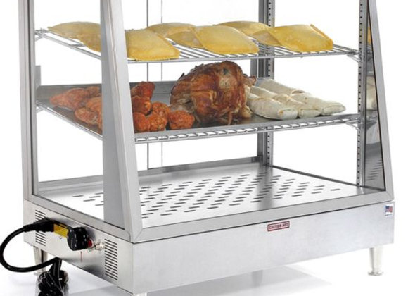 "48"" Heated Countertop Food Display Warmer"