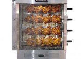20 Chicken Commercial Rotisserie Oven Machine, Gas