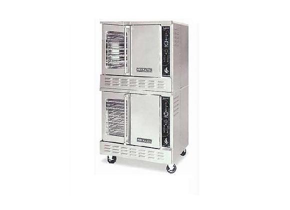 American Range - Double Deck Convection Oven, Gas, (2) Solid Doors