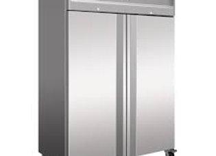"""Coldline 54"""" Double Door Reach-In Refrigerator, Stainless, Top Mount"""