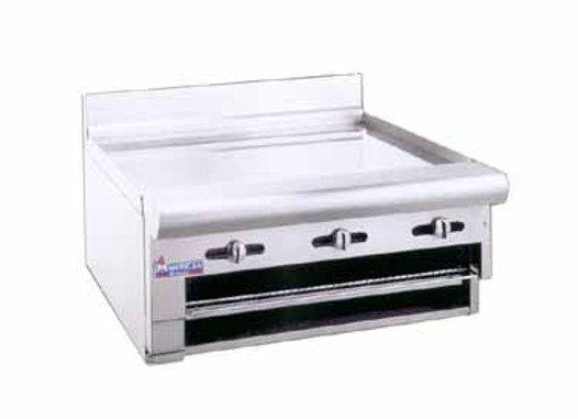 48 American Range - Countertop Raised 80,000 BTU Griddle/Broiler, 48 in.