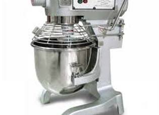 20 Quart Gear Driven Commercial Planetary Stand Mixer with Timer