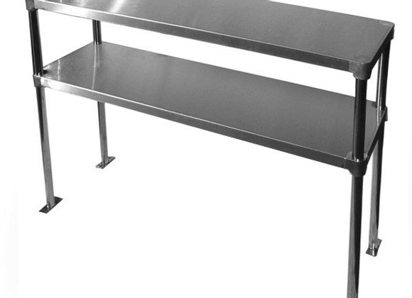 "12"" X 72"" Double Overshelf - Adjustable"