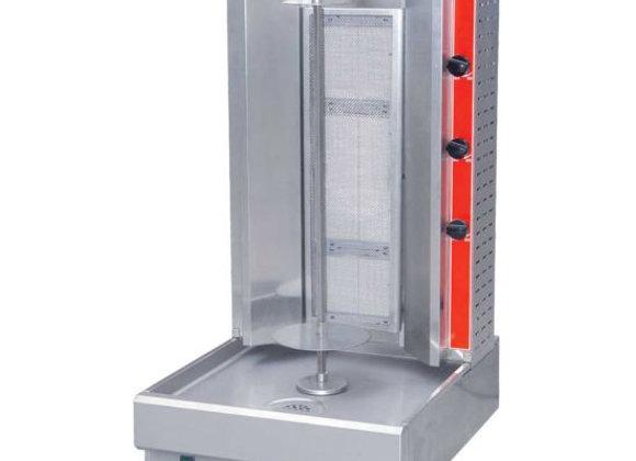 Cookline 3G Gas Vertical Gyro Shawarma Broiler, 55 lb. - 37,500 BTU