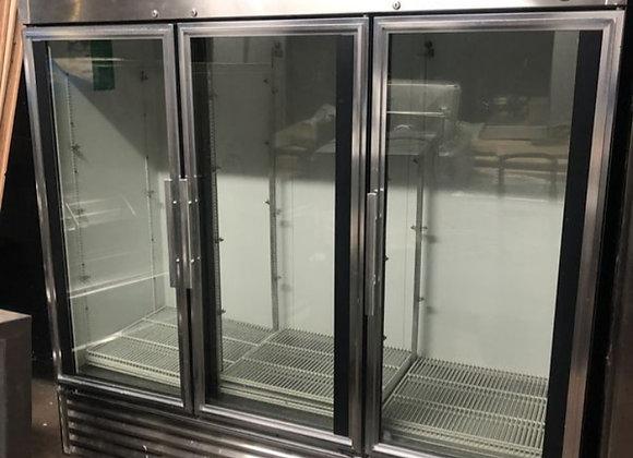 3 door refrigerator glass door