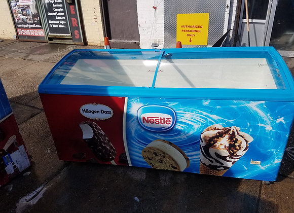 6 ft  ice cream freezer