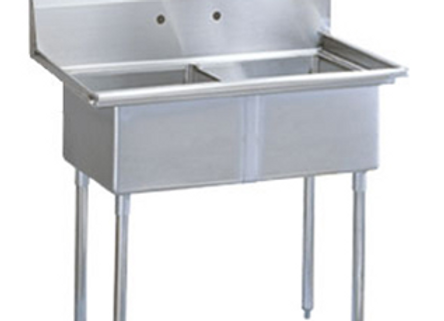 Two Compartment Utility Sink - 39""