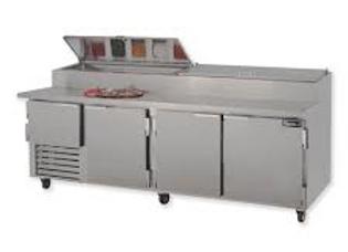 "96"" Pizza Prep Refrigerator"