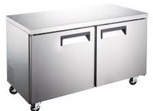 "60"" Undercounter Worktop Refrigerator - 15 Cu. Ft."