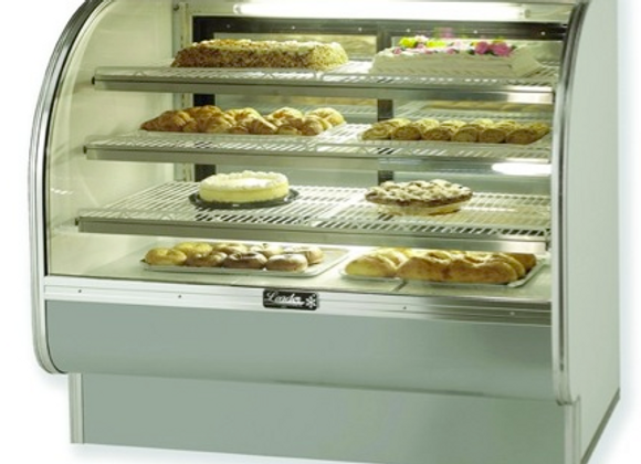 "48"" Curved Glass Dry Bakery Display Case -"