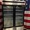 Thumbnail: two glass door freezer