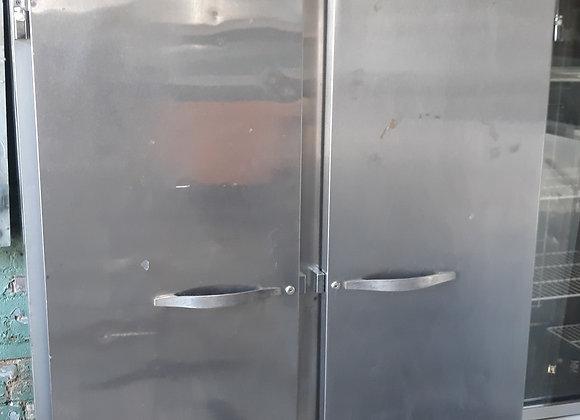 Two door freezer stainless steel