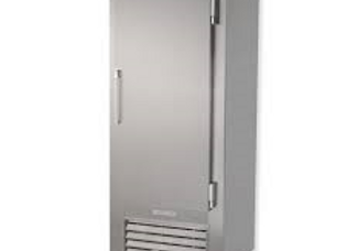 "Leader 30"" One Solid Door Reach-In Freezer, Stainless Steel"
