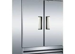 """Coldline 54"""" Double Solid Door Reach-In Refrigerator"""