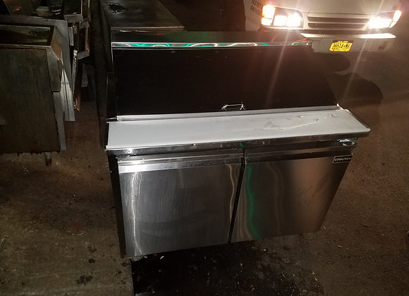 used sandwich prep table