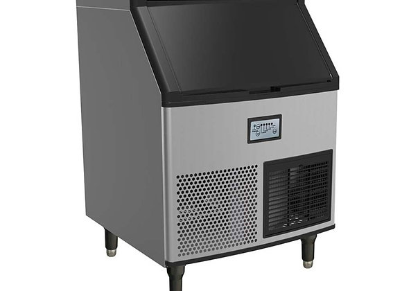 280 lbs. Ice Maker Machine with Storage Bin