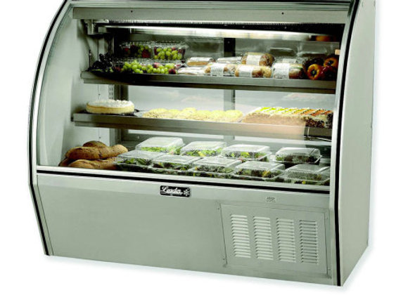 Curved High Deli Case 72""