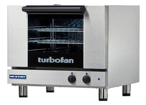 """Moffat E22M3 24"""" Turbofan Half Size Electric Convection Oven - 120V"""